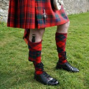 Tartan Kilt Hose with split diamond option