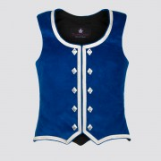 Highland Dancing Waistcoat shown in Royal Velvet