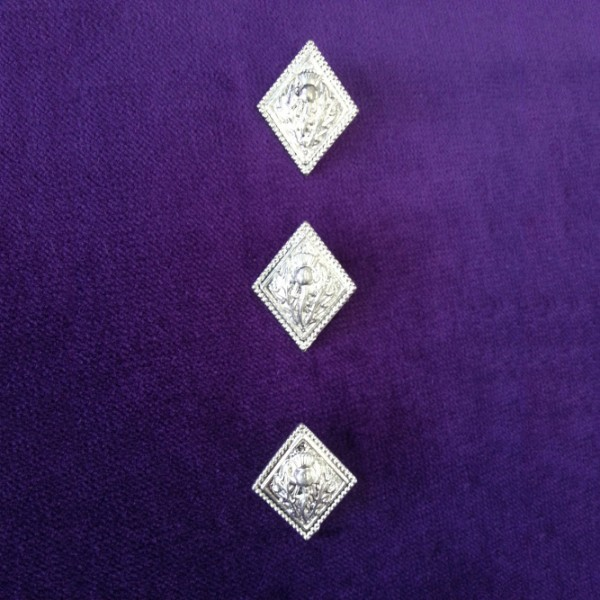 Highland Dancing Thistle buttons