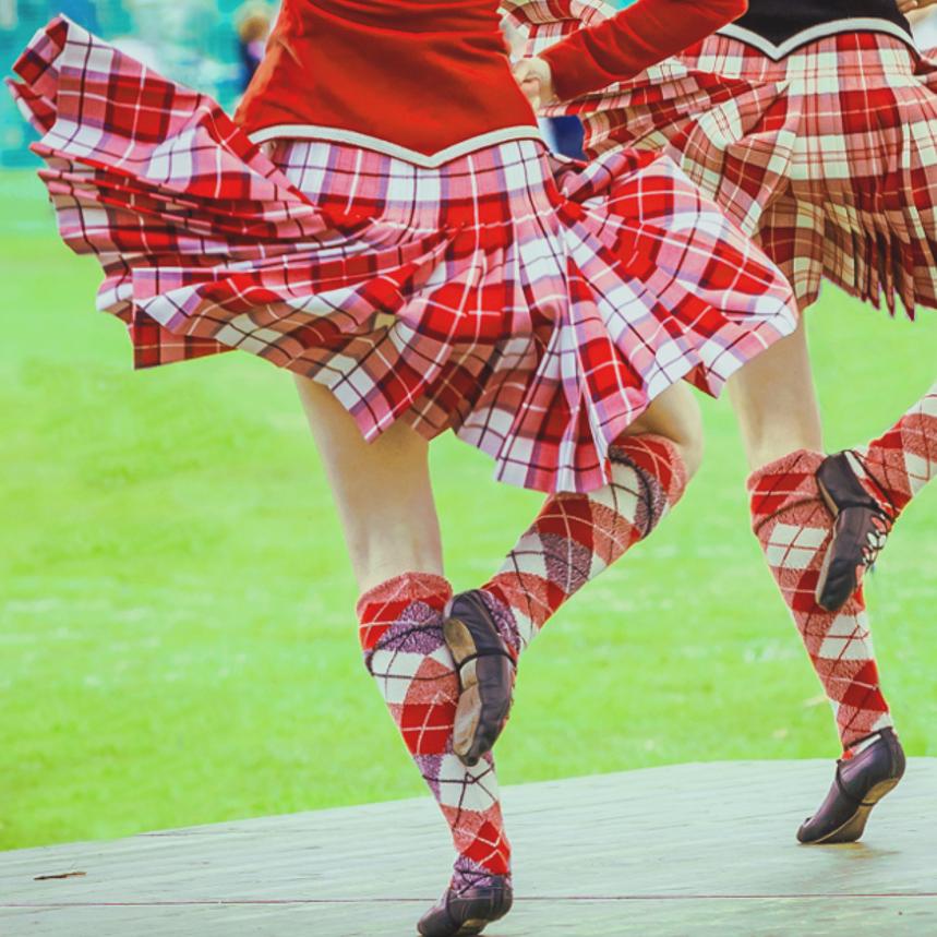 Highland Dancing Kilt