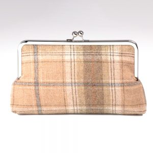 Harvest Tweed Wool Clutch Bag