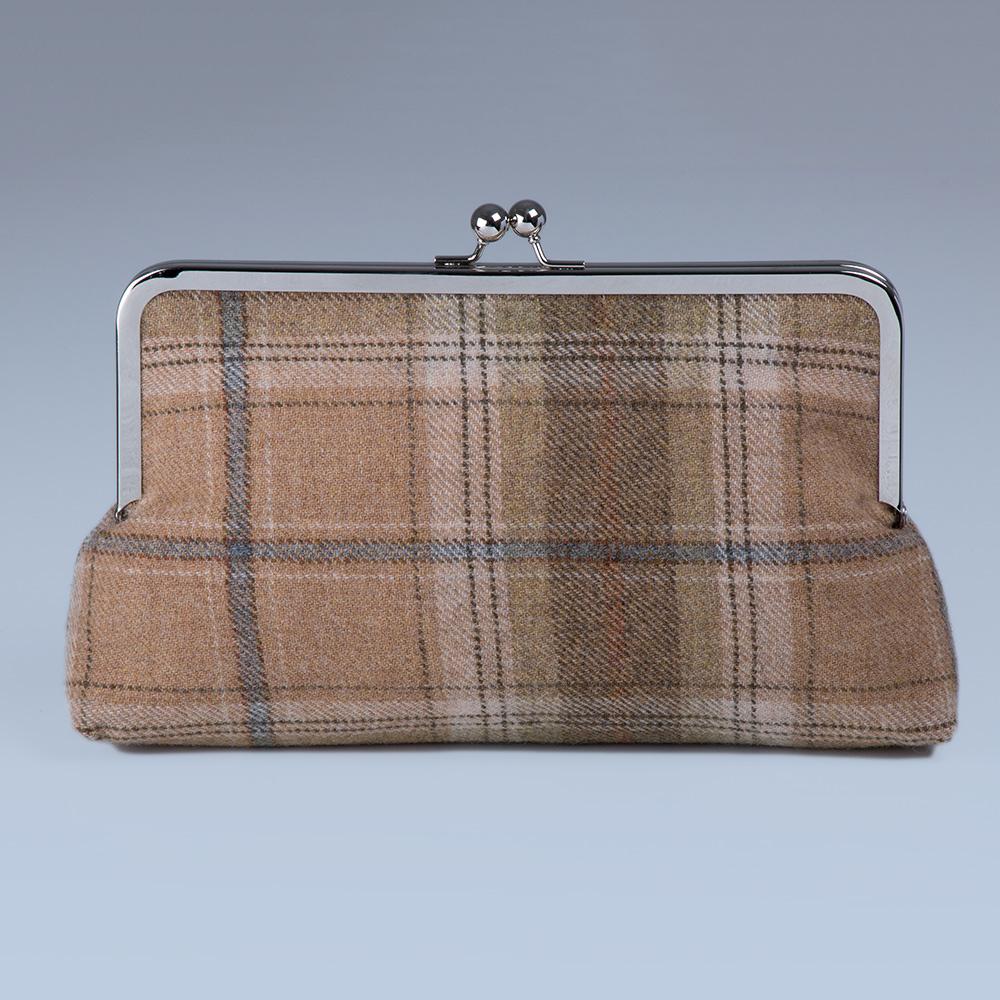 Bonnie Tweed Clutch Bag