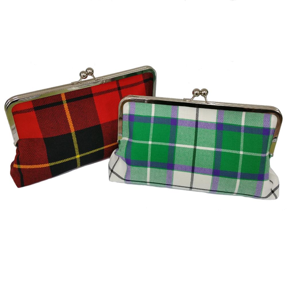 Bonnie Tartan Clutch Bags