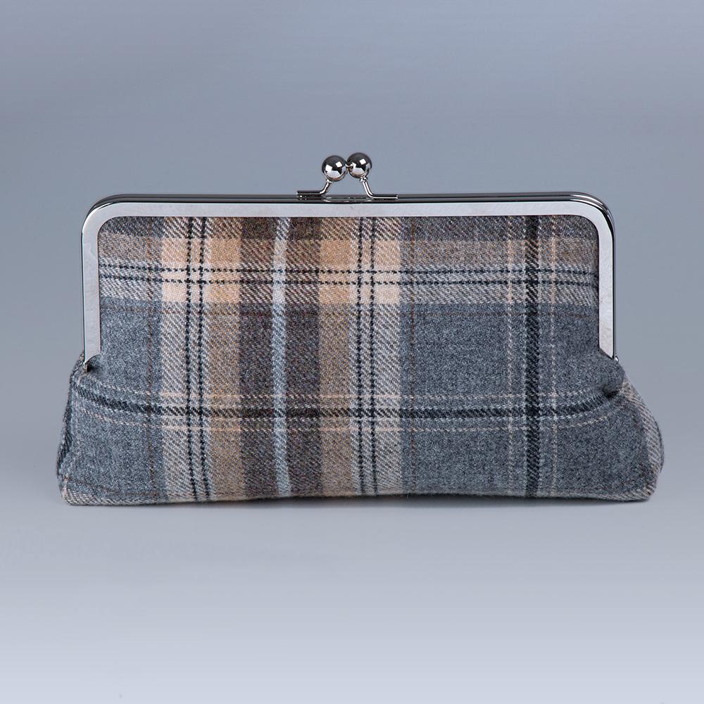 Bonnie Pewter Clutch Bag