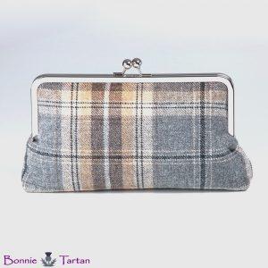 Pewter Tween Wool Clutch Bag