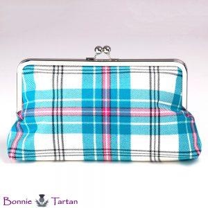 Thistle Aqua Clutch Bag