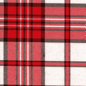 Dress Red Scott (Variation) Tartan