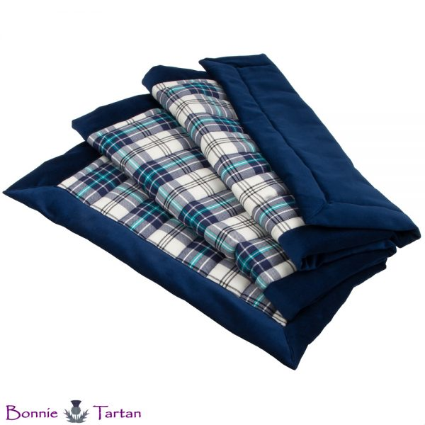 Thistle Marine Tartan Throw
