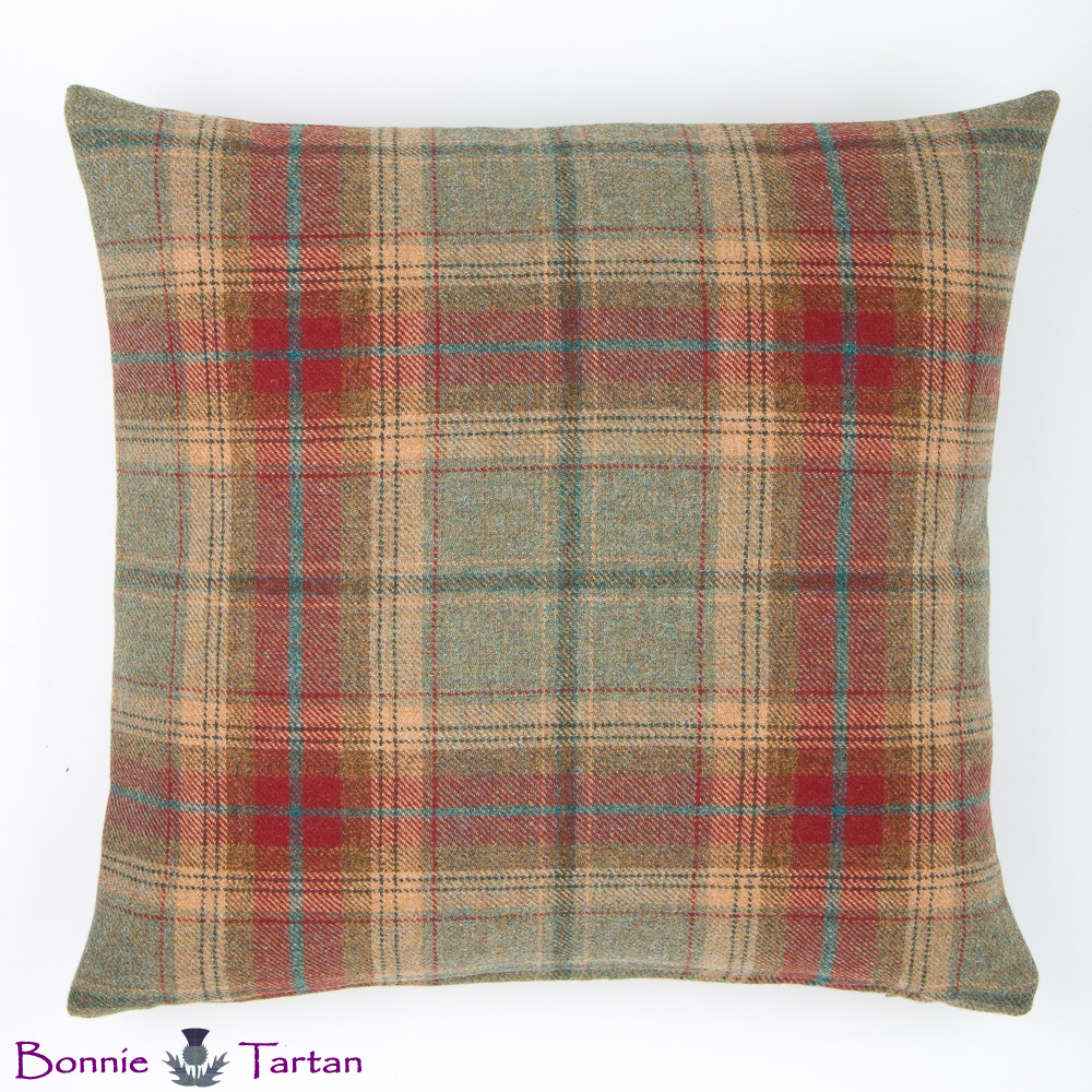 Autumn Tweed Cushion