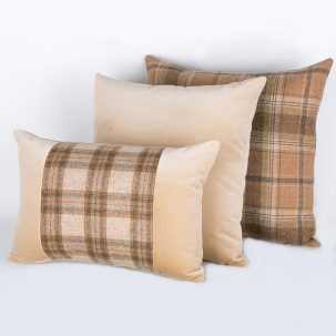 Harvest Tweed Cushions