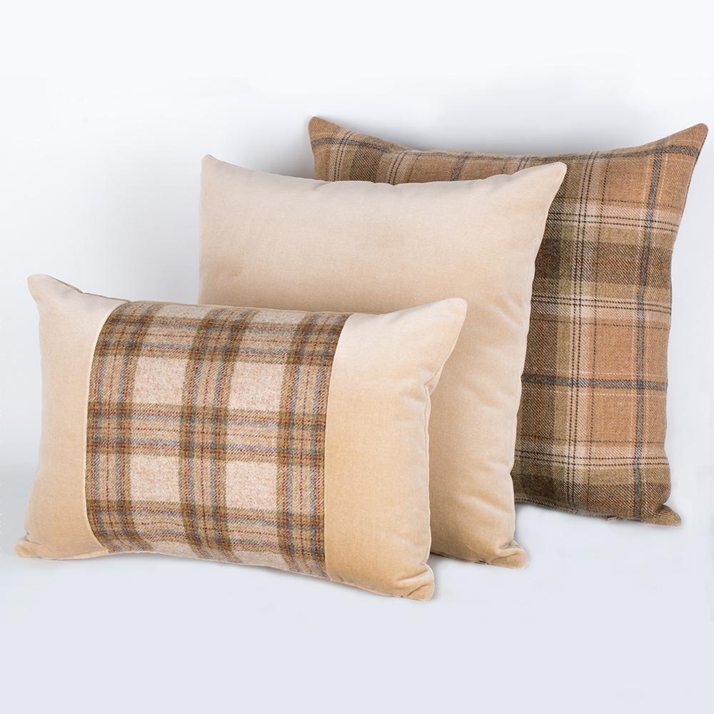 Harvest Tweed Cushions