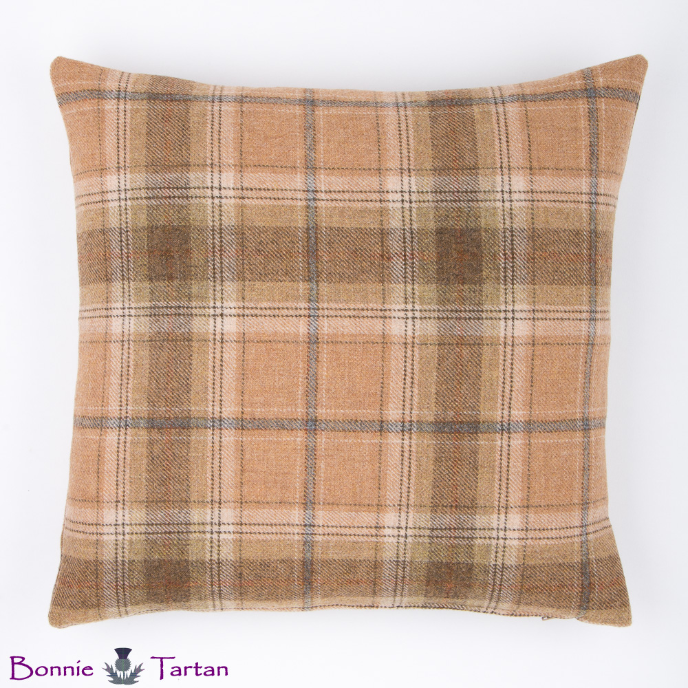 Harvest Tweed Cushion
