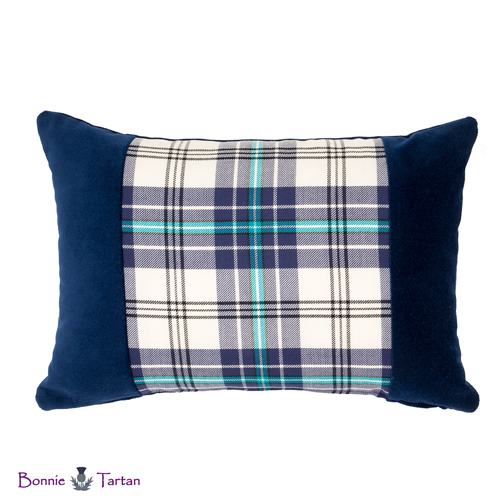 Thistle Marine Tartan Accent Cushion