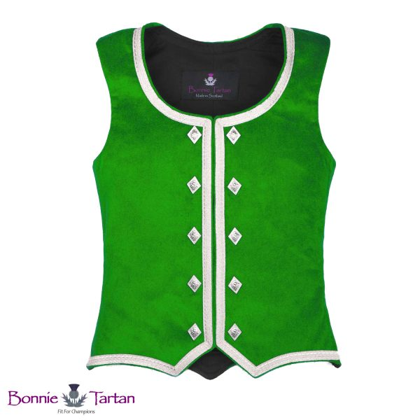 Bonnie Emerald Highland Waistcoat