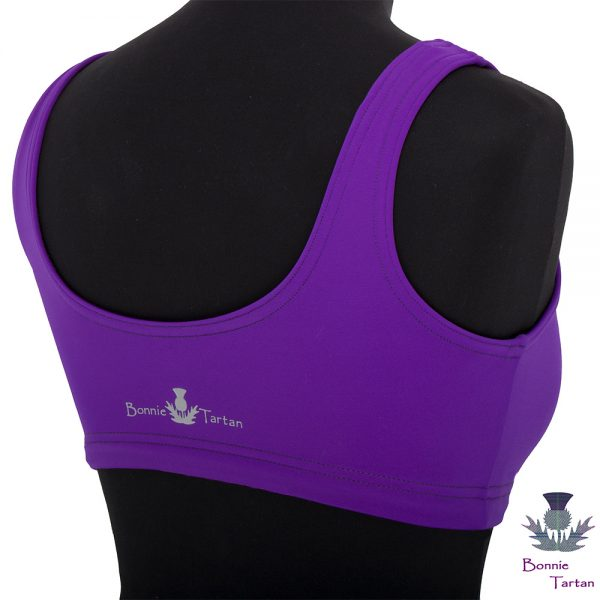 Performance Crop Top in Violet