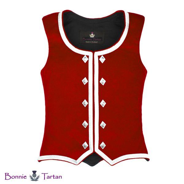Bonnie Flame Highland Waistcoat