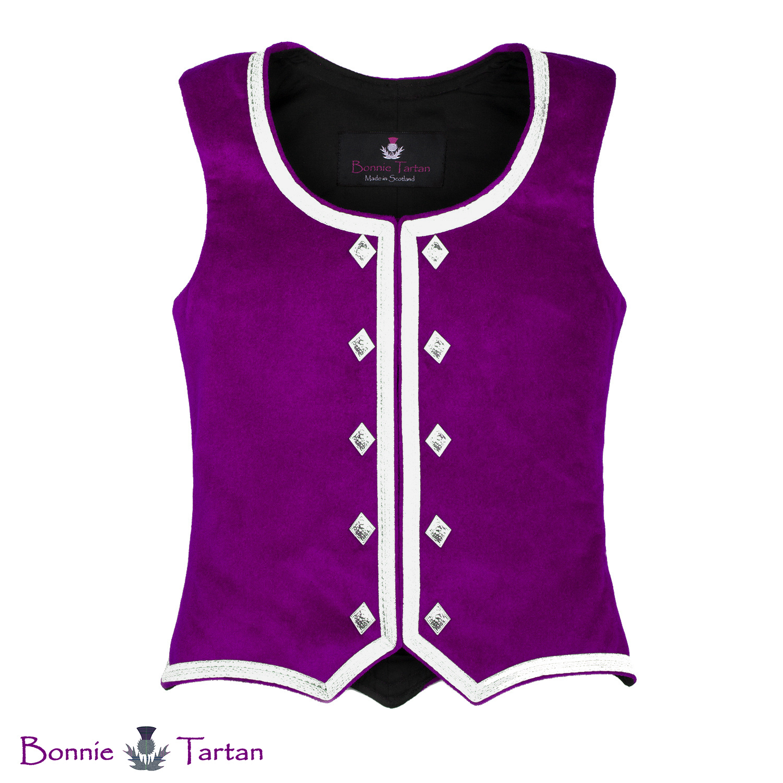 Bonnie Fuchsia Highland Waistcoat