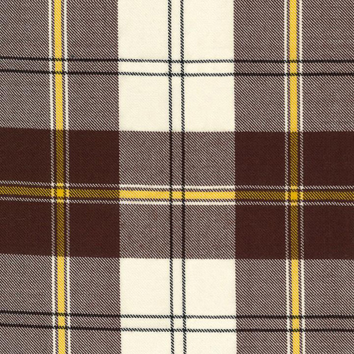 Cunningham Dress Brown Tartan