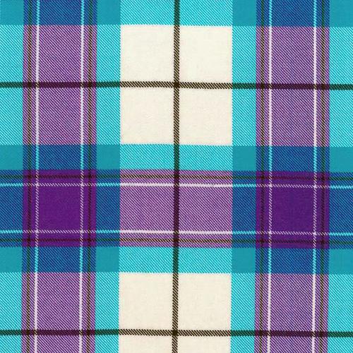 Kerr Dress Purple Tartan