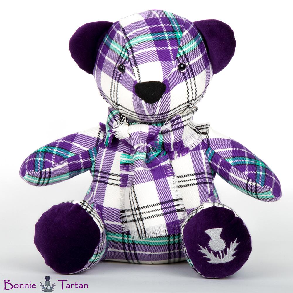 Bonnie Thistle Violet Bear