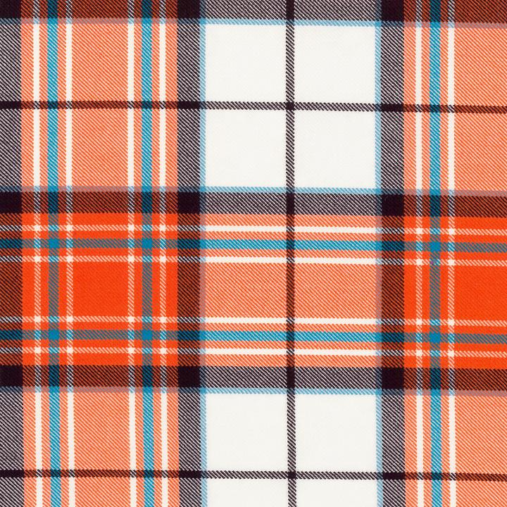 Dress Tangerine Mckellar Tartan