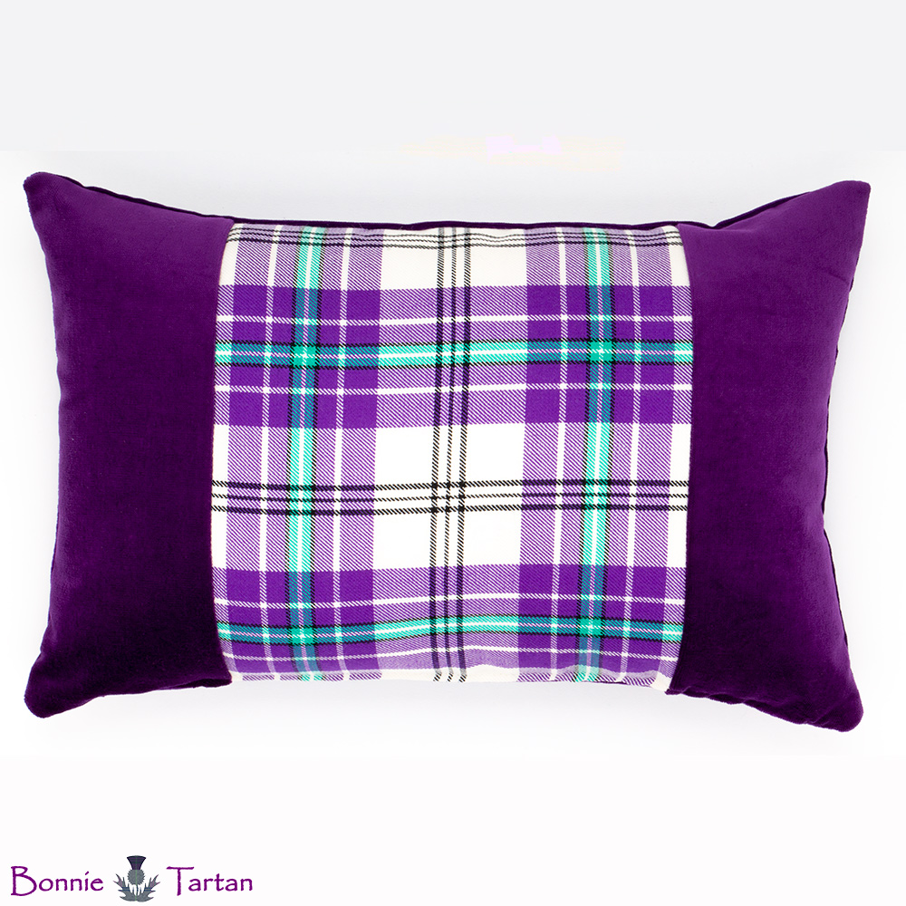 Thistle Violet Accent Cushion