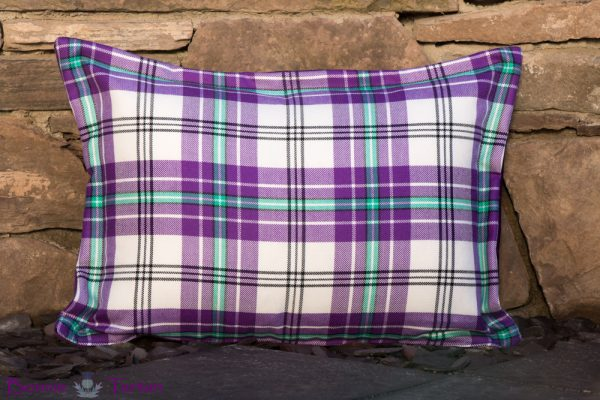 Thistle Violet Cushion