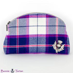 Highland Marine Tartan Cosmetic Bag