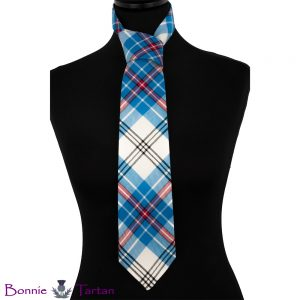 Thistle Sky Tartan Tie